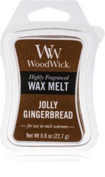 Woodwick Jolly Gingerbread ceară pentru aromatizator 22,7 g