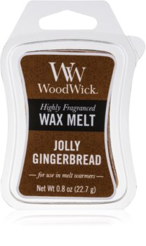 Woodwick Jolly Gingerbread tartelette en cire 22,7 g