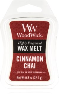 Woodwick Cinnamon Chai ceară pentru aromatizator 22,7 g