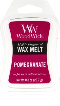 Woodwick Pomegranate tartelette en cire 22,7 g