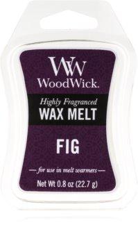 Woodwick Fig tartelette en cire 22,7 g
