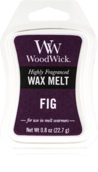 Woodwick Fig vosek za aroma lučko  22,7 g