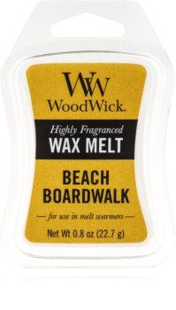 Woodwick Beach Boardwalk cera per lampada aromatica 22,7 g