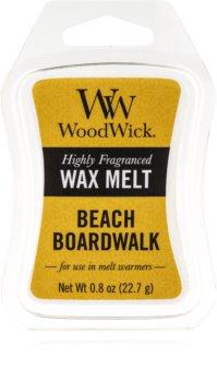 Woodwick Beach Boardwalk illatos viasz aromalámpába 22,7 g