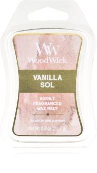 Woodwick Vanilla Sol ceară pentru aromatizator 22,7 g Artisan