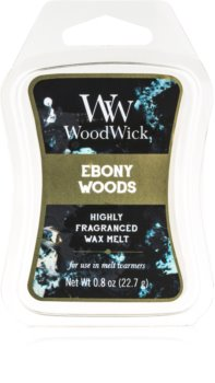 Woodwick Ebony Woods Duftwachs für Aromalampe 22,7 g Artisan