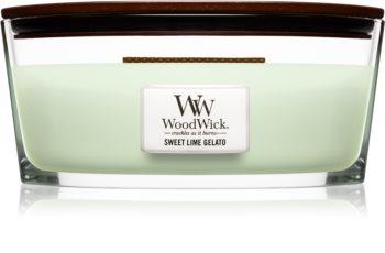 Woodwick Sweet Lime Gelato illatos gyertya  453,6 g Hearthwick