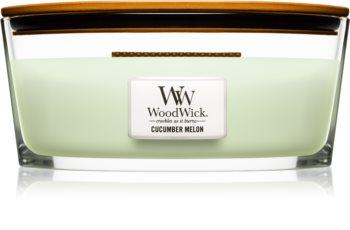 Woodwick Cucumber Melon candela profumata 453,6 g Hearthwick