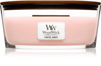 Woodwick Coastal Sunset candela profumata con stoppino in legno (hearthwick) 453,6 g