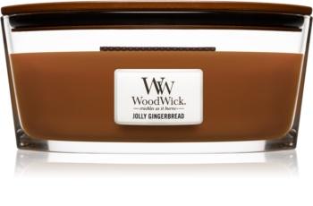 Woodwick Jolly Gingerbread świeczka zapachowa  453,6 g Hearthwick