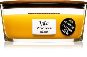 Woodwick Pineapple candela profumata 453,6 g Hearthwick