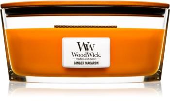 Woodwick Ginger Macaron vonná sviečka 453,6 g Hearthwick