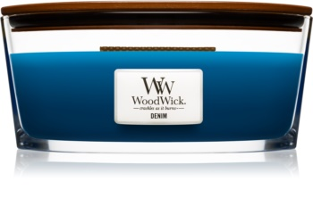 Woodwick Denim dišeča sveča  453,6 g Hearthwick