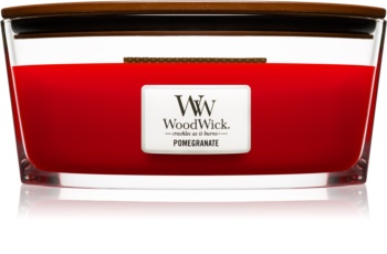 Woodwick Pomegranate Scented Candle 453,6 g Hearthwick