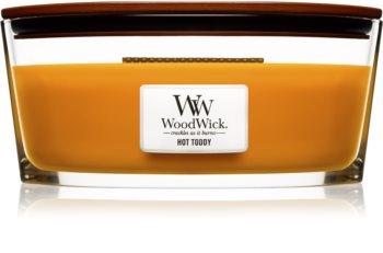 Woodwick Hot Toddy Duftkerze  453,6 g mit Holzdocht (Hearthwick)