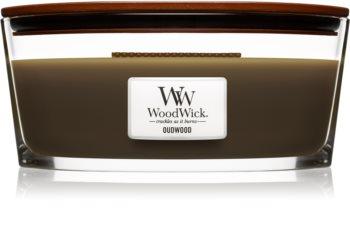 Woodwick Oudwood bougie parfumée 453,6 g Hearthwick