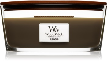 Woodwick Oudwood Scented Candle 453,6 g Wooden Wick (Hearthwick)