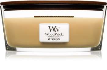 Woodwick At The Beach scented candle wooden wick (hearthwick)