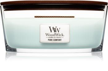 Woodwick Pure Comfort bougie parfumée 453,6 g avec mèche en bois (Hearthwick)