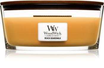 Woodwick Beach Boardwalk vonná svíčka 453,6 g s dřevěným knotem (Hearthwick)