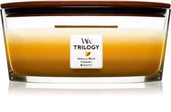 Woodwick Trilogy Café Sweets lumânare parfumată  453,6 g Hearthwick