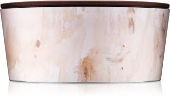 Woodwick Artisan Ellipse Vanilla Sol lumânare parfumată  453,6 g cu fitil din lemn (Hearthwick)