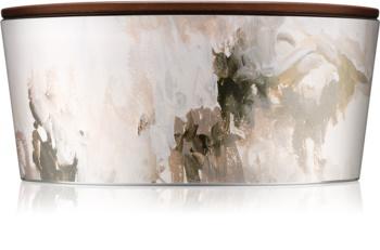 Woodwick Artisan Ellipse Honey Tabac vonná svíčka 453,6 g s dřevěným knotem (Hearthwick)