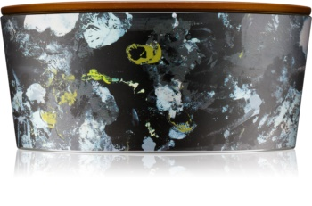 Woodwick Artisan Ellipse Ebony Woods Scented Candle 453,6 g Hearthwick
