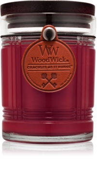 Woodwick Reserve Mahogany vonná svíčka 226,8 g