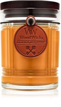 Woodwick Reserve Teakwood lumânare parfumată  226,8 g
