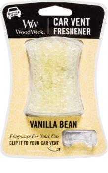 Woodwick Vanilla Bean odświeżacz do samochodu   klips