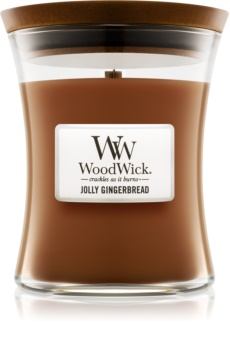 Woodwick Jolly Gingerbread Scented Candle 275 g Medium