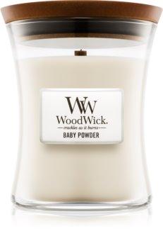 Woodwick Baby Powder Geurkaars 275 gr Medium