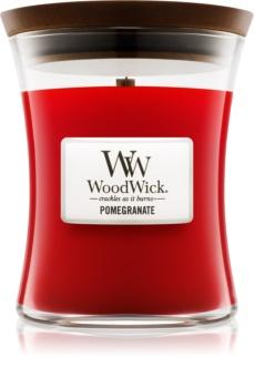 Woodwick Pomegranate vonná svíčka 275 g střední