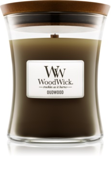 Woodwick Oudwood Scented Candle 275 g Medium