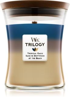 Woodwick Trilogy Nautical Escape lumânare parfumată  275 g mediu