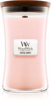 Woodwick Coastal Sunset ароматизована свічка  609,5 гр з дерев'яним гнітом