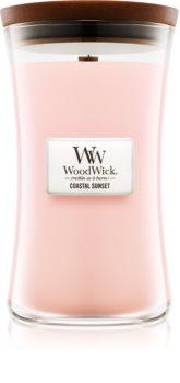 Woodwick Coastal Sunset vela perfumada  609,5 g con mecha de madera