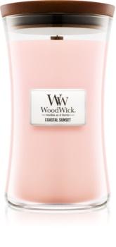 Woodwick Coastal Sunset vonná svíčka 609,5 g velká