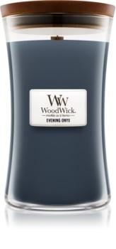 Woodwick Evening Onyx vonná svíčka 609,5 g s dřevěným knotem