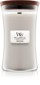 Woodwick Warm Wool vonná svíčka 609,5 g velká