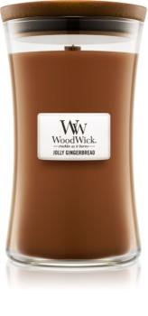 Woodwick Jolly Gingerbread bougie parfumée 609,5 g grande