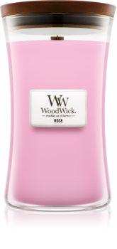 Woodwick Rose vonná svíčka 609,5 g velká