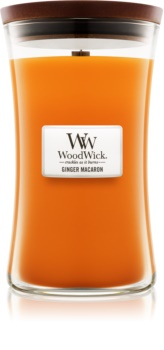 Woodwick Ginger Macaron Scented Candle 609,5 g Large