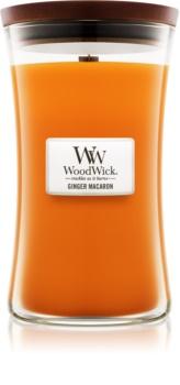 Woodwick Ginger Macaron świeczka zapachowa  609,5 g duża
