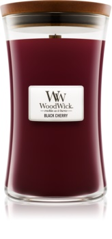 Woodwick Black Cherry Scented Candle 609,5 g Wooden Wick