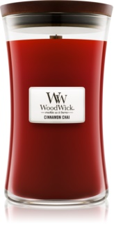 Woodwick Cinnamon Chai Scented Candle 609,5 g Wooden Wick