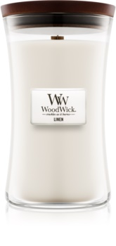 Woodwick Linen Mirisna svijeća 609,5 g velika