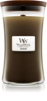 Woodwick Oudwood illatos gyertya  609,5 g nagy