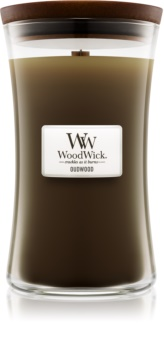 Woodwick Oudwood Scented Candle 609,5 g Large